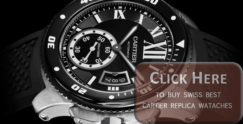 cartier calibre diver replica watches