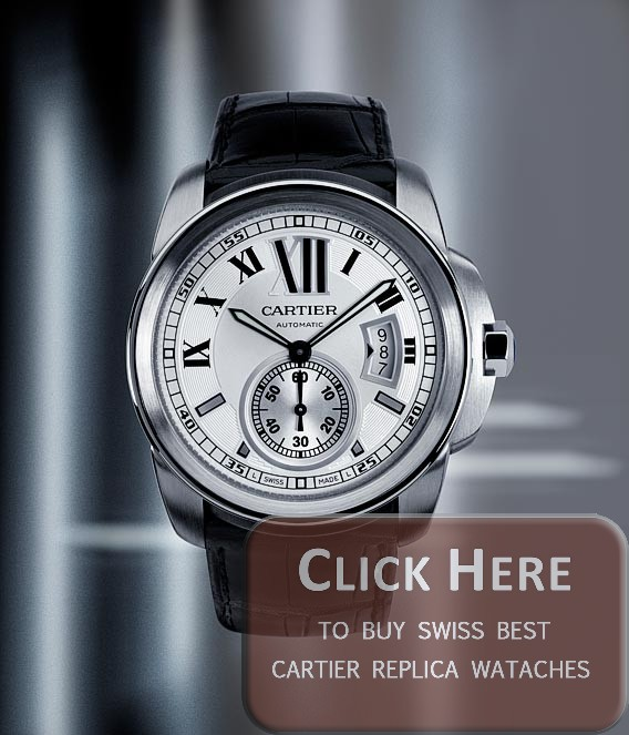 cartier calibre replica watches