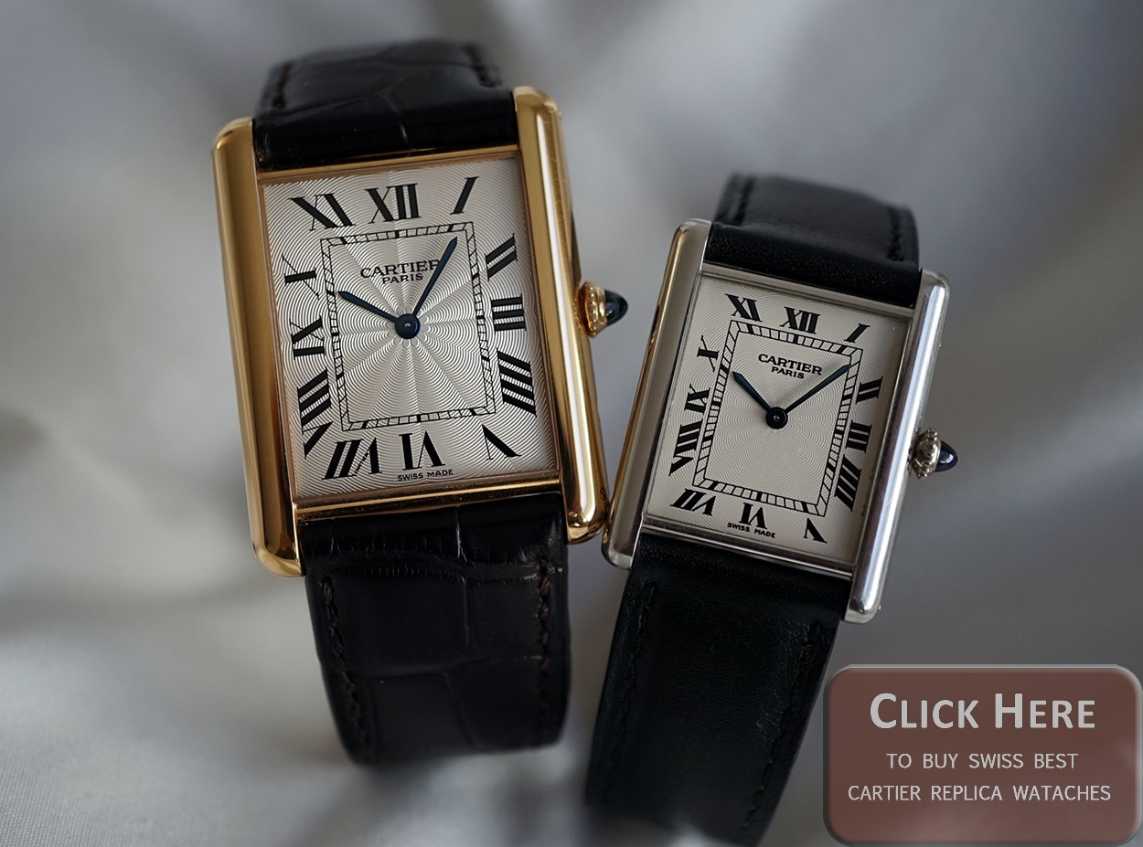 gold swiss tank watch watches collection americaine white ref cartier image large