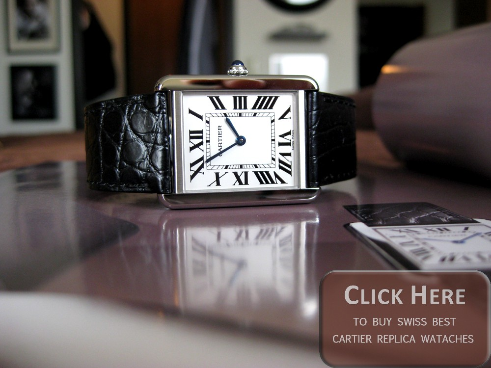 cartier tank solo replica watches